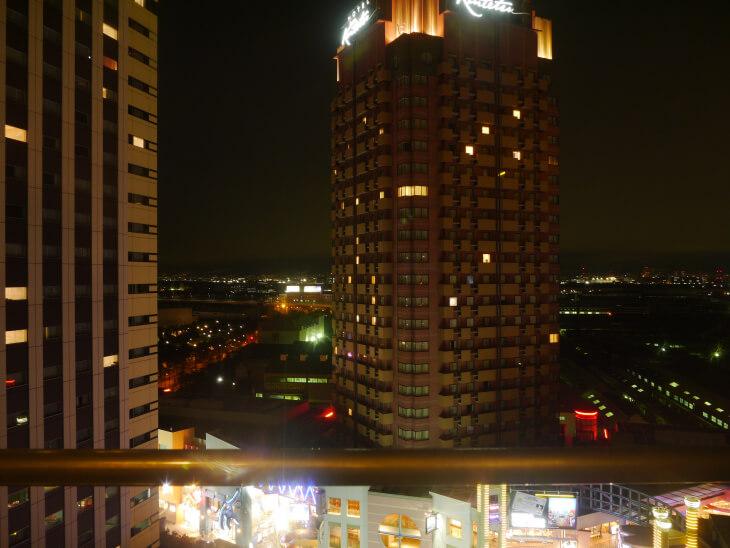 ホテル京阪 ユニバーサル・タワー 14階のカジュアルツインからの眺め画像