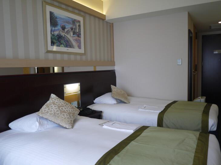 ホテル京阪 ユニバーサル・タワー カジュアルツインの部屋画像