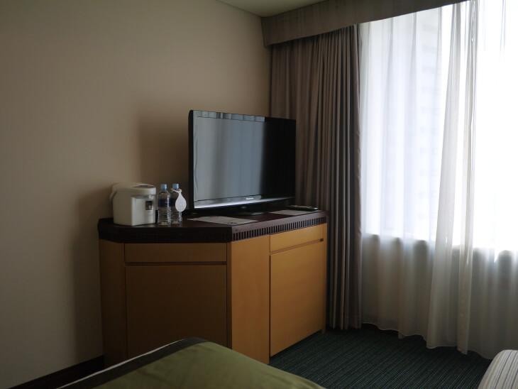 ホテル京阪 ユニバーサル・タワー カジュアルツインの部屋にあるテレビ画像