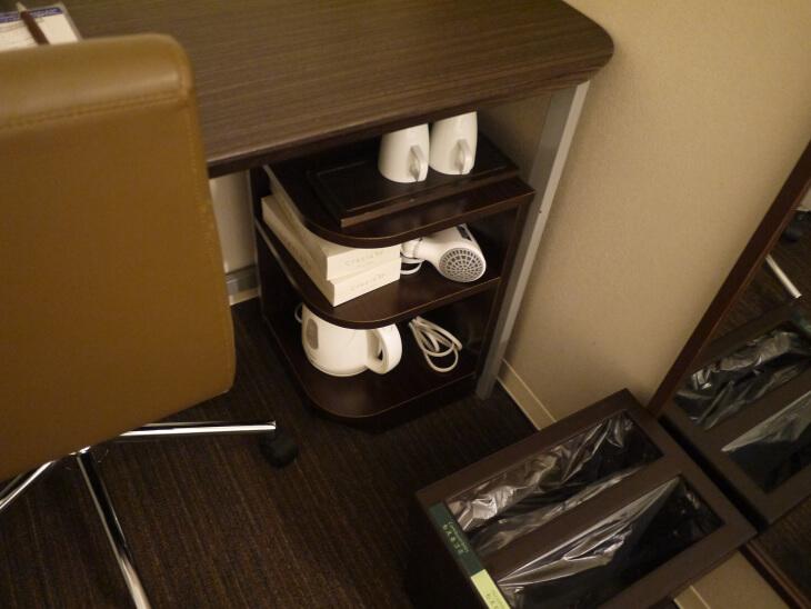 スーパーホテルJR新大阪東口 室内にある備品画像