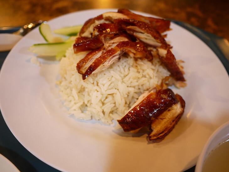 フードジャンクション 厨房 食霸海鮮魚头炉のチキンライス画像