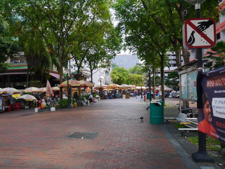 シンガポール市内ブギス画像