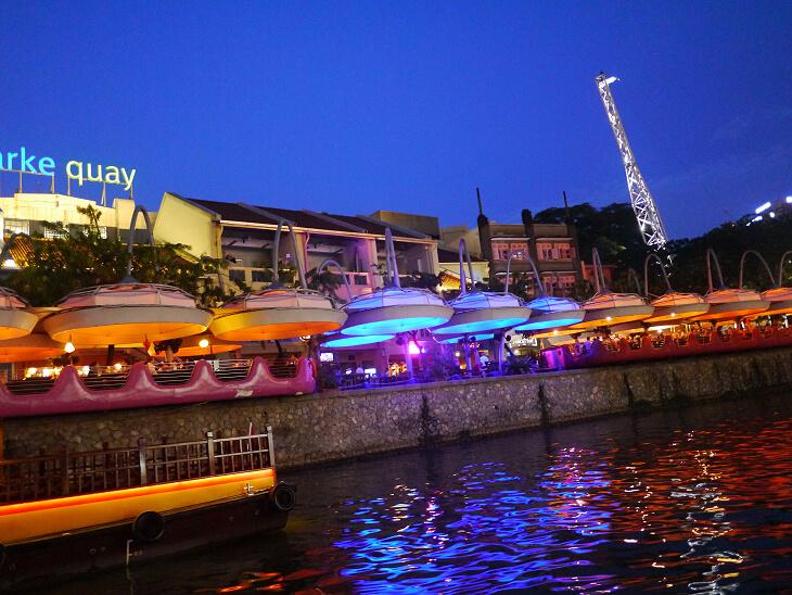 ボートから眺めるOctapas Spanish Tapas Bar画像