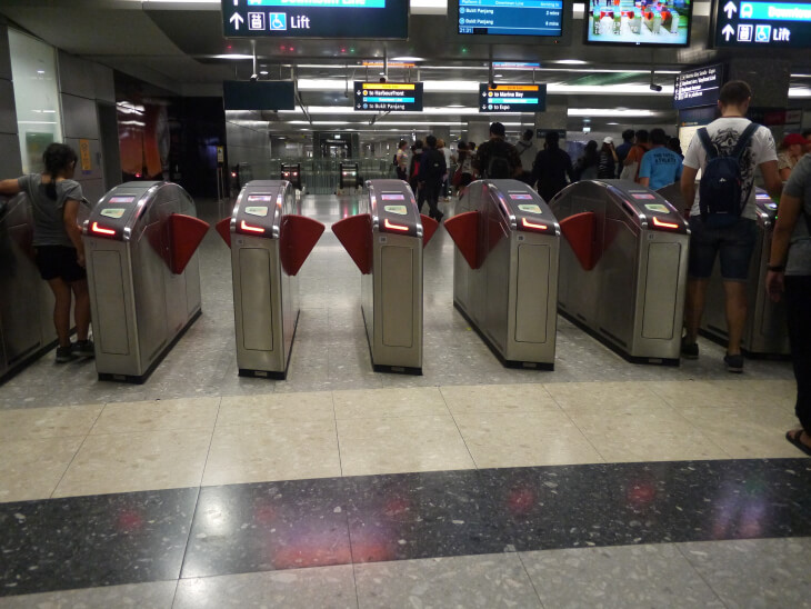 MRTベイフロント駅画像