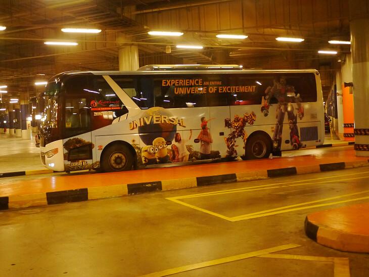シンガポールUSS観光バス画像