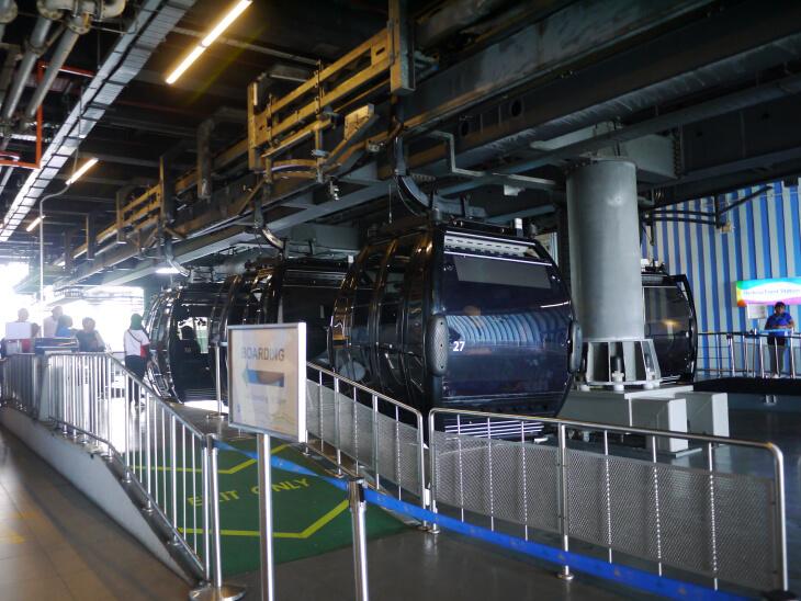 ハーバー・フロントにあるケーブルカー乗り場画像
