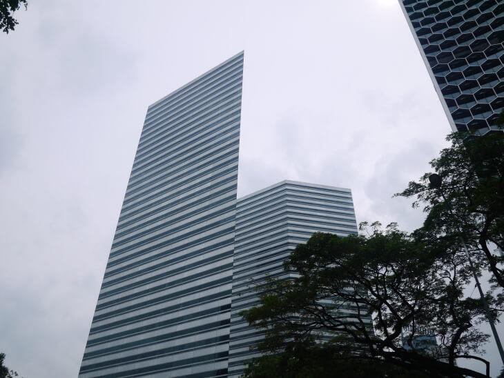トライショーによるシンガポール市内高層ビル画像