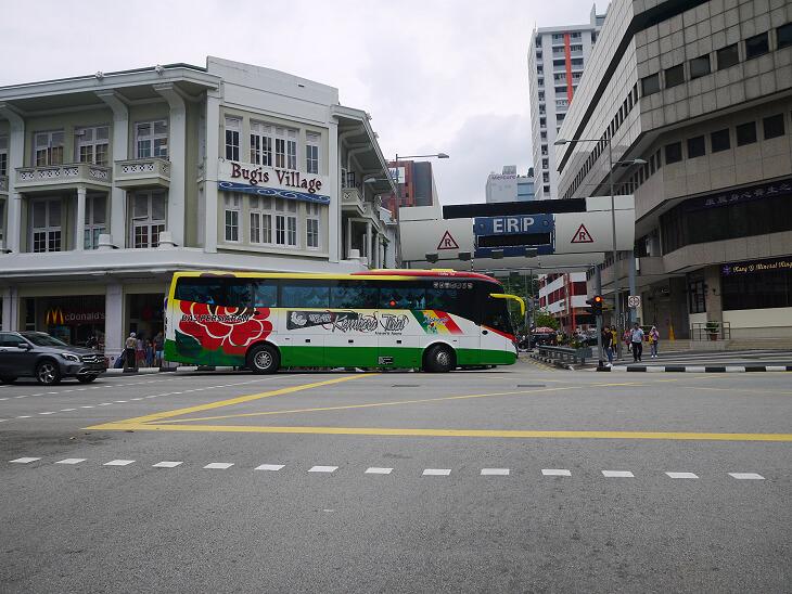 トライショーによるシンガポール市内観光AERA画像