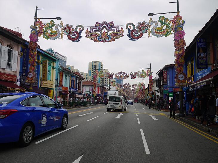 シンガポール リトルインディア画像