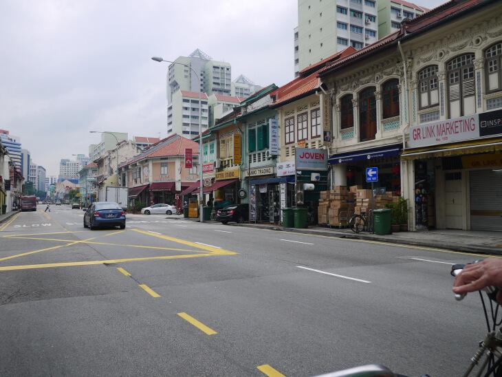 トライショーによるシンガポール市内観光画像