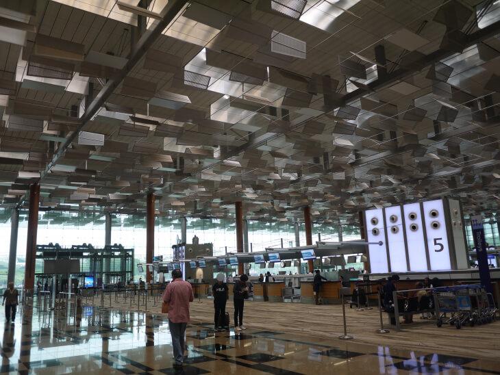 チャンギ国際空港ターミナル3画像