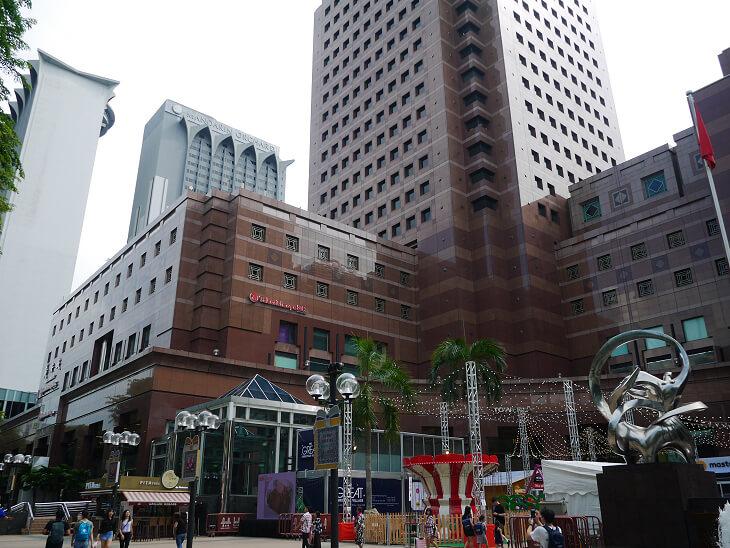 シンガポール高島屋外観画像