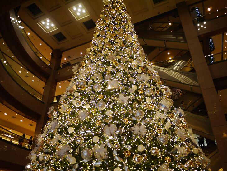 複合施設ニー・アン・シティ クリスマスツリー画像