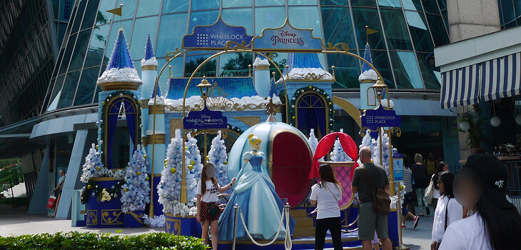 ウィーロック・プレイス周辺 ディズニー・マジカル・モーメンツ画像