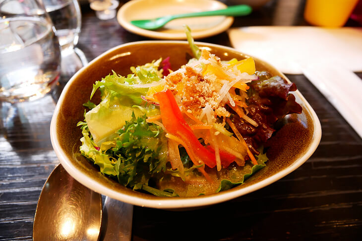 ウルフギャング・パック PIZZA BAR ランチセットのサラダ画像