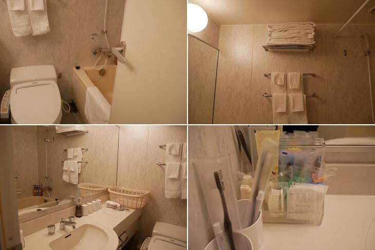 コンフォート ザ・ムービー トイレ&バスルーム画像