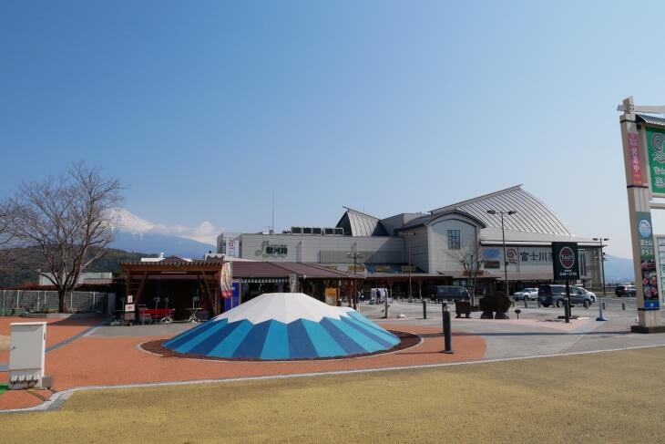 道の駅「富士川楽座」3F 外観画像