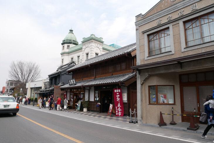蔵造の町並み埼玉りそな川越支店周辺画像