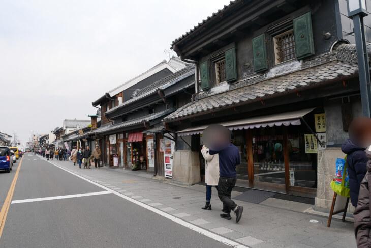 蔵造の町並み画像