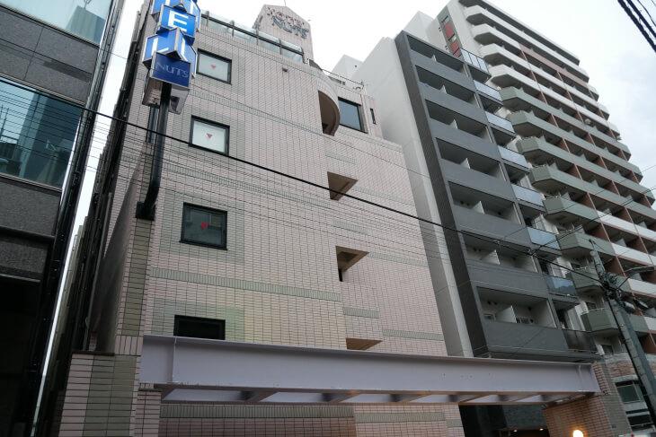 新宿CITY HOTEL N.U.T.S東京 外観画像