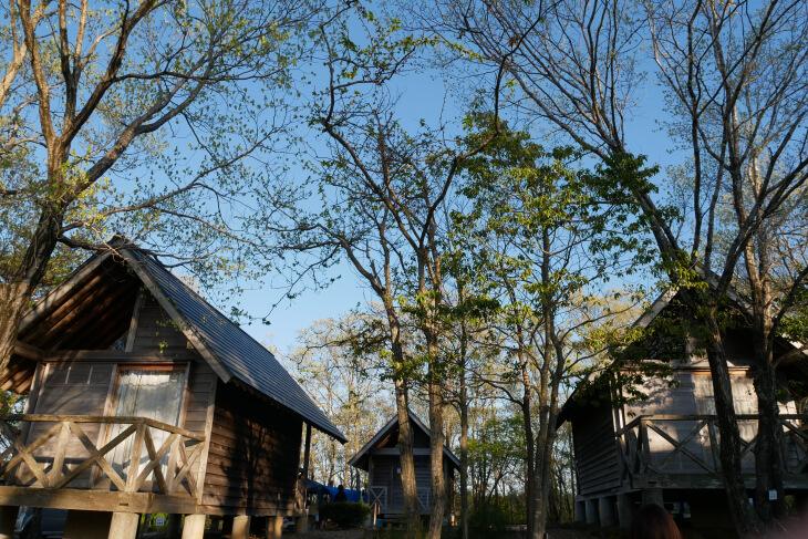石川県健康の森バンガロー区画画像
