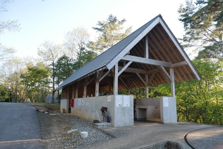 石川県健康の森 共同炊事棟画像