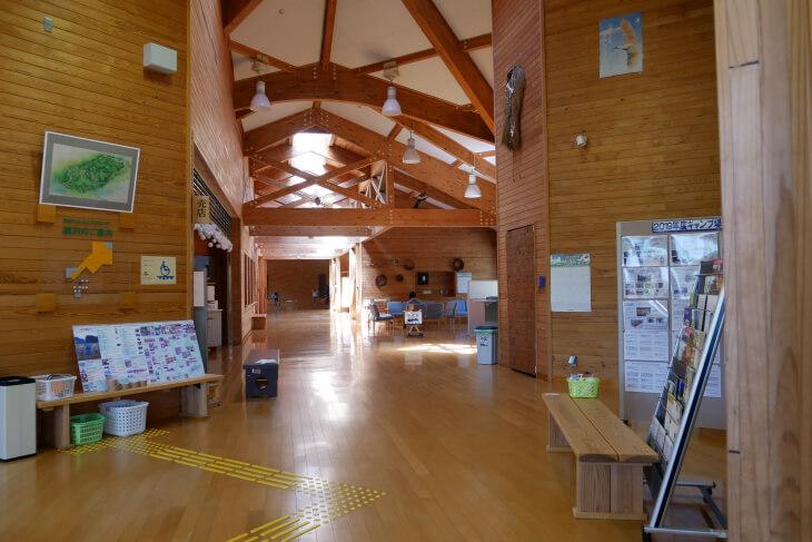 石川県健康の森総合交流センター館内画像