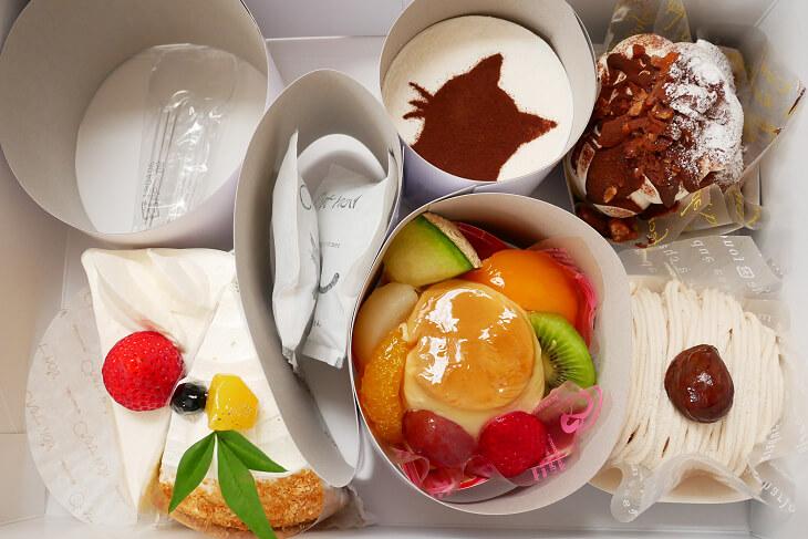 シャノワールのケーキ詰め合わせ画像