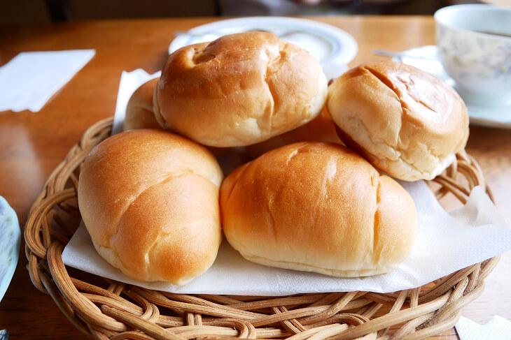 ロールパン画像